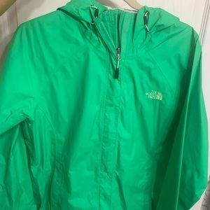 North face rain jacket/wind breaker.. worn once!